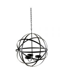 Candle Sphere Chandelier