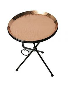 Classic Copper Tray Table
