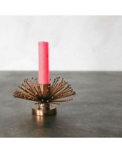 Copper Crafted Candle Holder