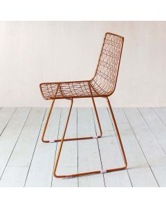 Copper Wire Chair