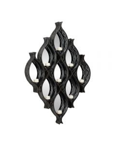 Diamond Mesh Metal Wall Sconce