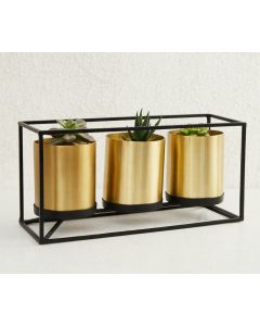 Planters With Rectangular Stand