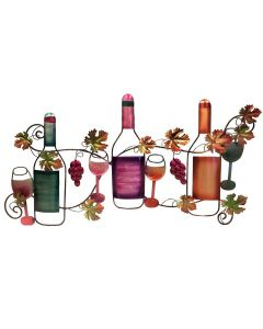 Multi-Color Based Wine Wall Decor