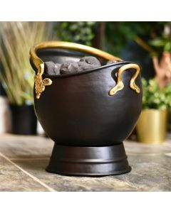 Traditional Coal Bucket With Brass Handles