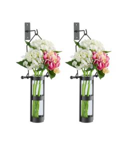 Wall Mount Hanging Glass Vases