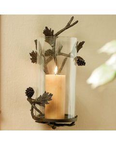 Stylish Pinecone Wall Sconce